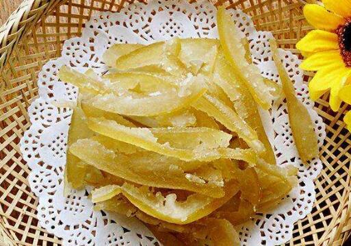 柚子皮糖有什么功效和作用
