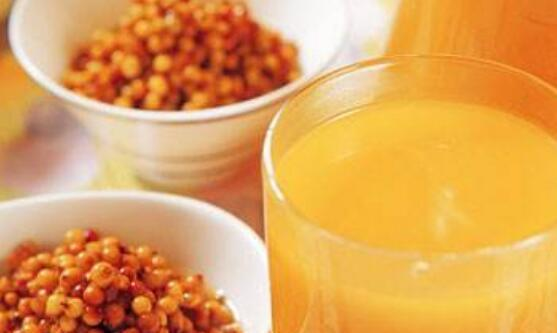 长期喝沙棘汁的好处和功效